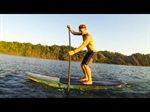 SUP surfing with Ben Brown