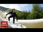 World's first artificial surfing lake
