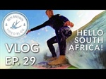 Ben Brown surfs South Africa