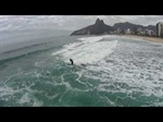 """Bird View"" Sup Surfing Ipanema"