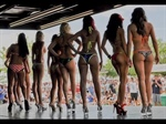 Bikini contest at the Southeast US Boat Show