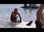 Man saves kids from shark- gets fired