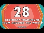 28 Birthday Traditions From Around the World