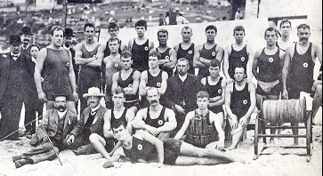 Bondi Surf Life Saving Club, December 1906