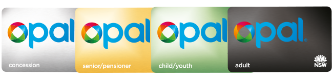 Opal card types